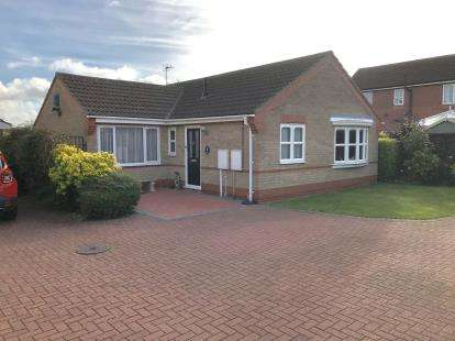 2 Bedrooms Bungalow for sale in Worcester Close, Louth, Lincolnshire