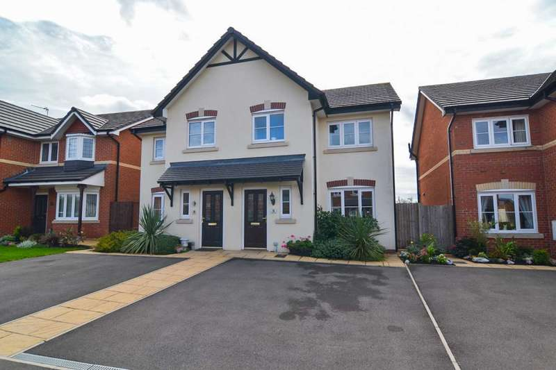 3 Bedrooms Semi Detached House for sale in Franklyn Drive, Newton Le Willows