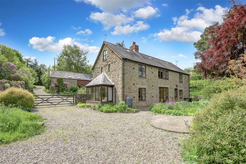 10 Bedrooms Barn Conversion Character Property for sale in Mocktree, Leintwardine, Shropshire