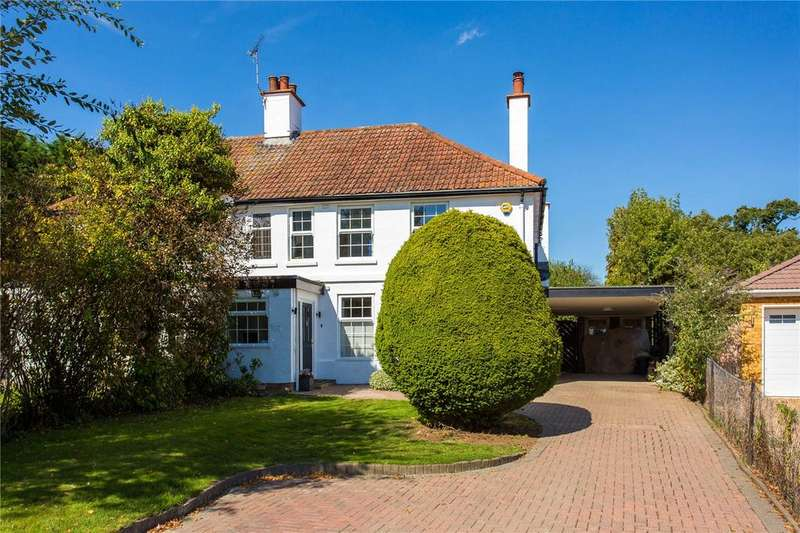 3 Bedrooms Semi Detached House for sale in Church Grove, Wexham