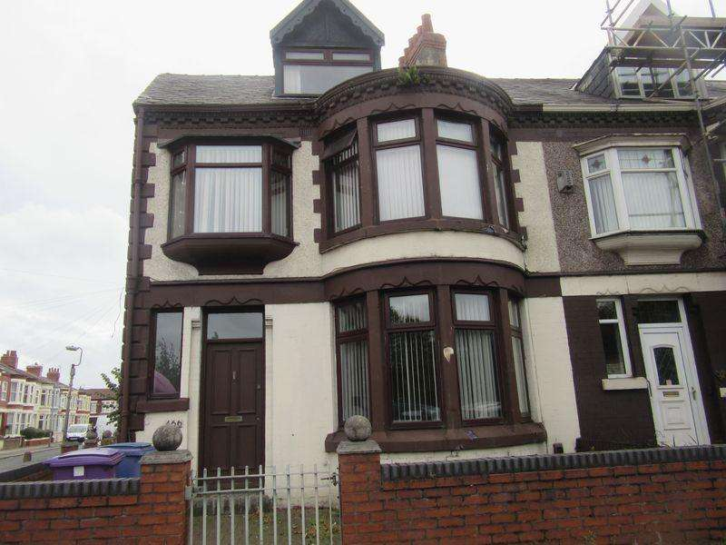 5 Bedrooms End Of Terrace House for sale in Queens Drive, Liverpool