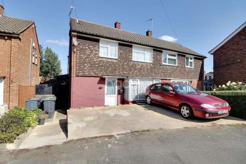 3 Bedrooms Semi Detached House for sale in Ickley Close, LU4