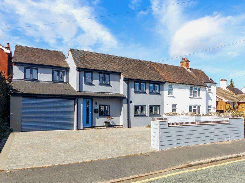 4 Bedrooms Semi Detached House for sale in Rugeley Road, Burntwood, Staffordshire
