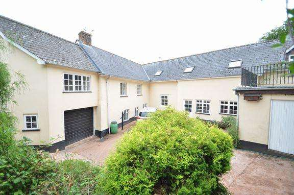 6 Bedrooms Detached House for sale in BRADNINCH - DEVON LONG HOUSE WITH ANNEXE