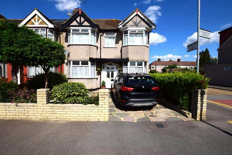 4 Bedrooms End Of Terrace House for sale in Pemberton Gardens, Chadwell Heath, Romford