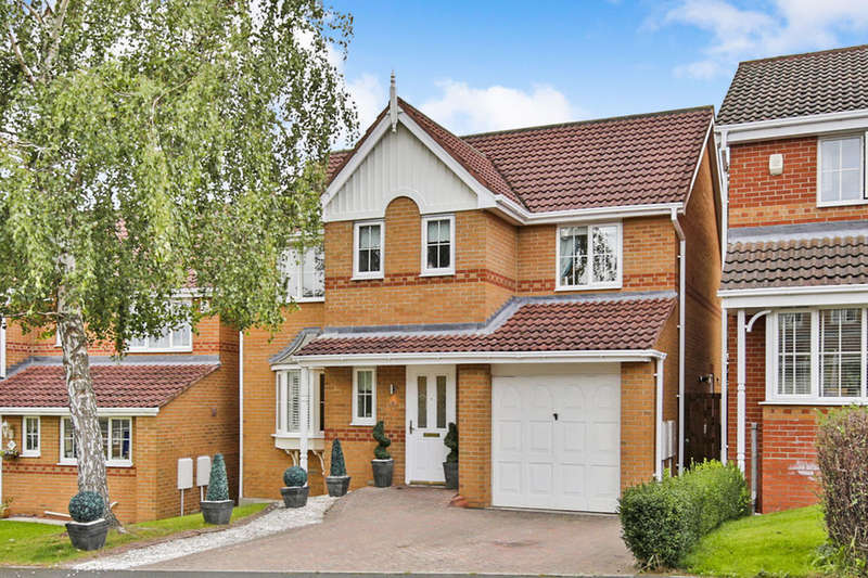 4 Bedrooms Detached House for sale in Oakwell Court, Hamsterley Colliery, Newcastle Upon Tyne, NE17