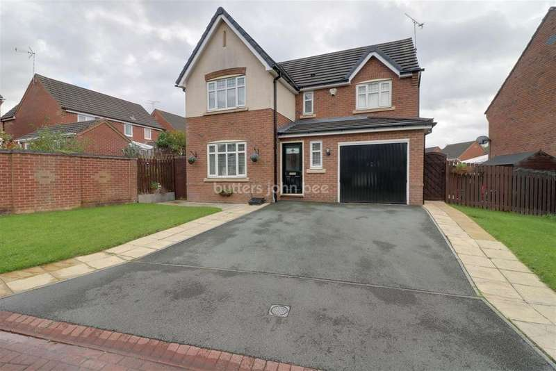 3 Bedrooms Detached House for sale in Upton Close, Winsford