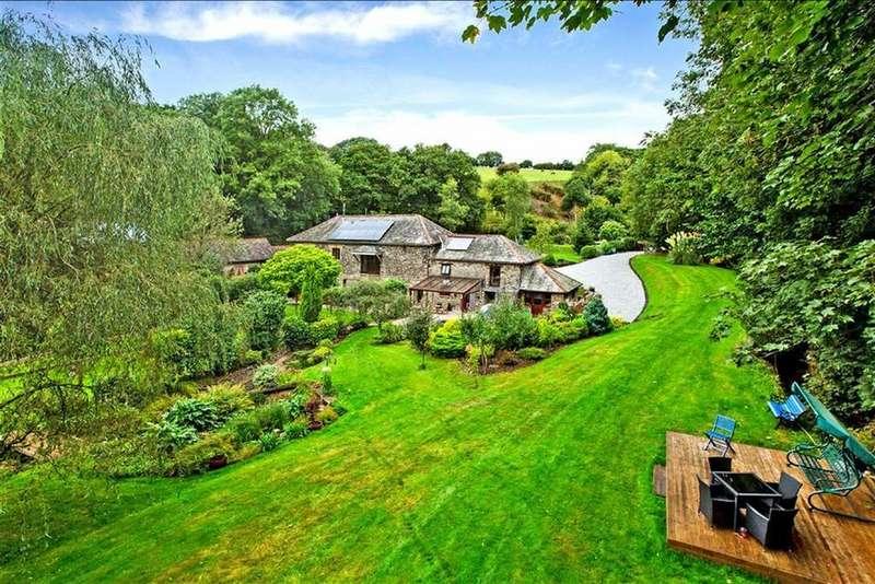 4 Bedrooms Detached House for sale in Tideford, Saltash, Cornwall, PL12