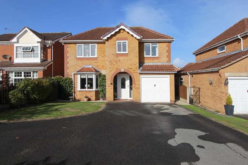 4 Bedrooms Detached House for sale in Holme Park Avenue, Upper Newbold, Chesterfield
