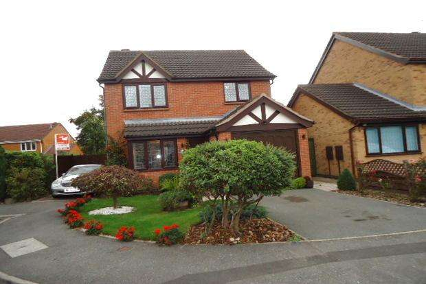 3 Bedrooms Detached House for sale in Birchwood Close, Leicester Forest East, Leicester, LE3