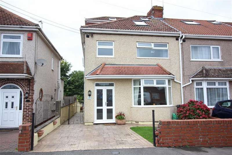4 Bedrooms End Of Terrace House for sale in Middle Road, Kingswood, Bristol