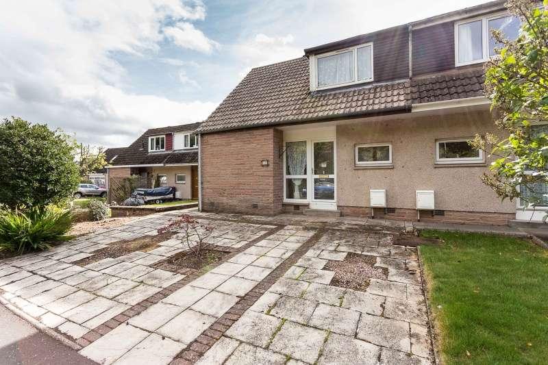 2 Bedrooms Semi Detached House for sale in Slade Gardens, Kirriemuir, Angus, DD8 5AF