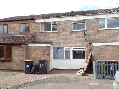 3 Bedrooms Terraced House for sale in Bents Close, Clapham, Bedford, Bedfordshire