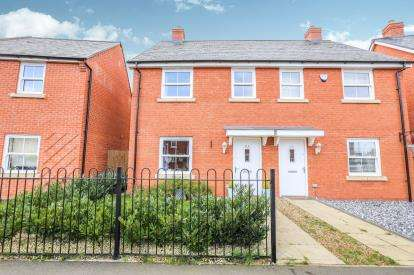 3 Bedrooms Semi Detached House for sale in Planets Way, Biggleswade, Bedfordshire, .