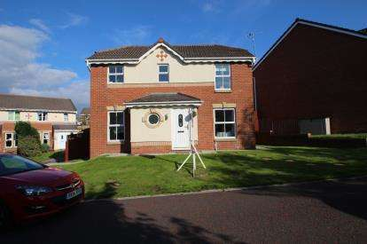 3 Bedrooms Detached House for sale in Spring Meadows, Clayton Le Moors, Accrington, Lancashire, BB5