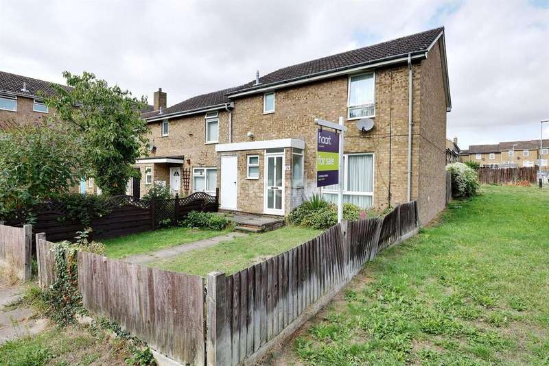 3 Bedrooms End Of Terrace House for sale in Morris Close, LU3