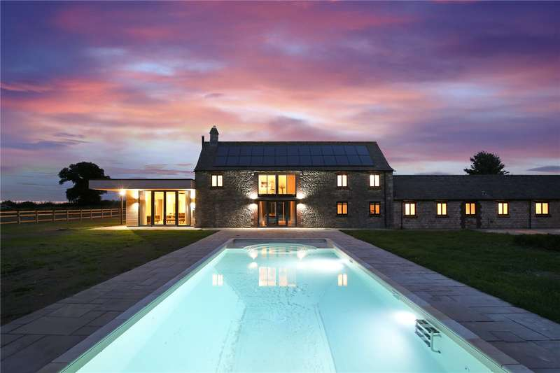 6 Bedrooms Detached House for sale in Upthorpe, Cam, Dursley, Gloucestershire, GL11