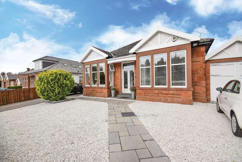 6 Bedrooms Detached Bungalow for sale in Hathaway Drive, Giffnock, Glasgow, G46 7AE