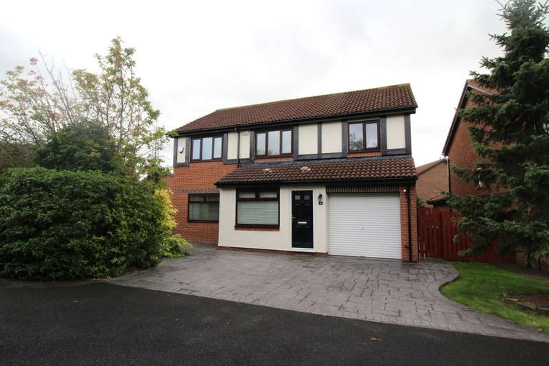 4 Bedrooms Detached House for sale in Canonsfield Close, North Walbottle, Newcastle Upon Tyne, NE15