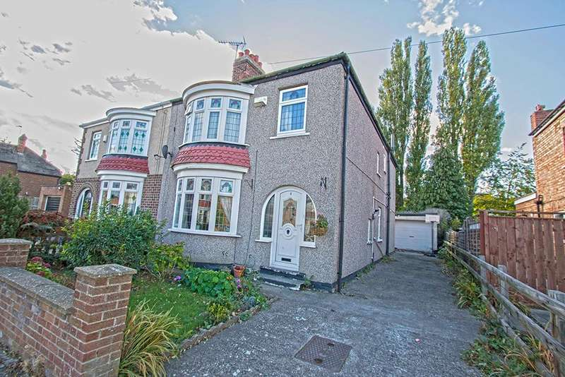 4 Bedrooms Semi Detached House for sale in Del Strother Avenue, Stockton-On-Tees TS19