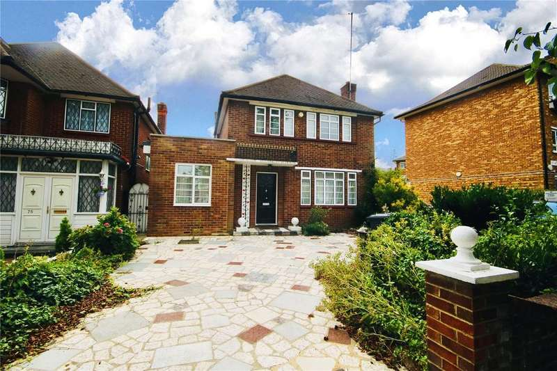 5 Bedrooms Detached House for sale in Salmon Street, London, NW9