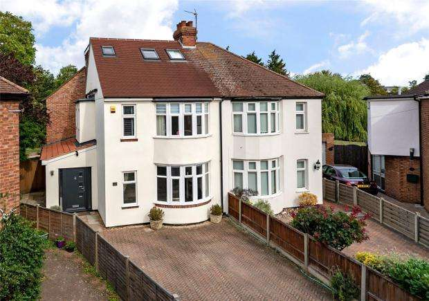 5 Bedrooms Semi Detached House for sale in Lovell Road, Cambridge