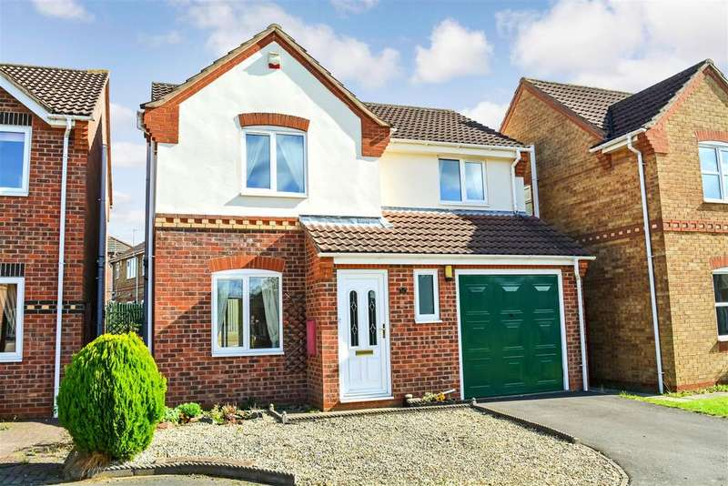 3 Bedrooms Detached House for sale in Burdock Road, Scunthorpe