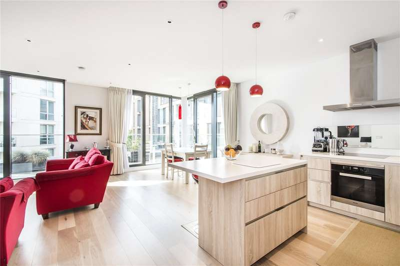 2 Bedrooms Flat for sale in Millennium House, 10 Plaza Gardens, London, SW15