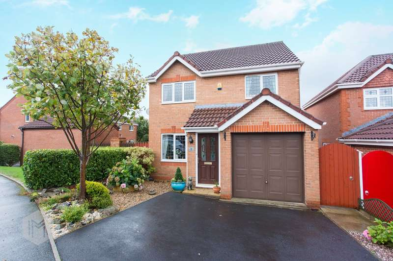 3 Bedrooms Detached House for sale in Bentworth Close, Westhoughton, Bolton, BL5