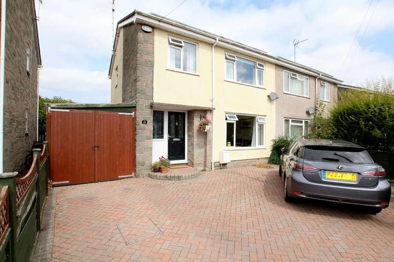3 Bedrooms Semi Detached House for sale in Field views to the rear