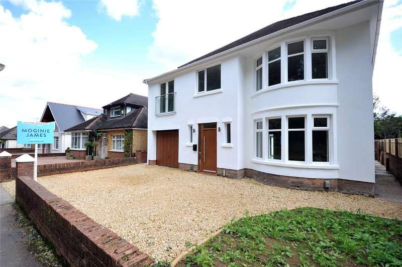 5 Bedrooms Detached House for sale in King George V Drive East, Heath, Cardiff, CF14