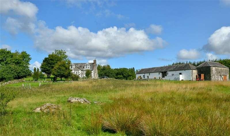 4 Bedrooms Detached House for sale in Corsock, Castle Douglas, Kirkcudbrightshire