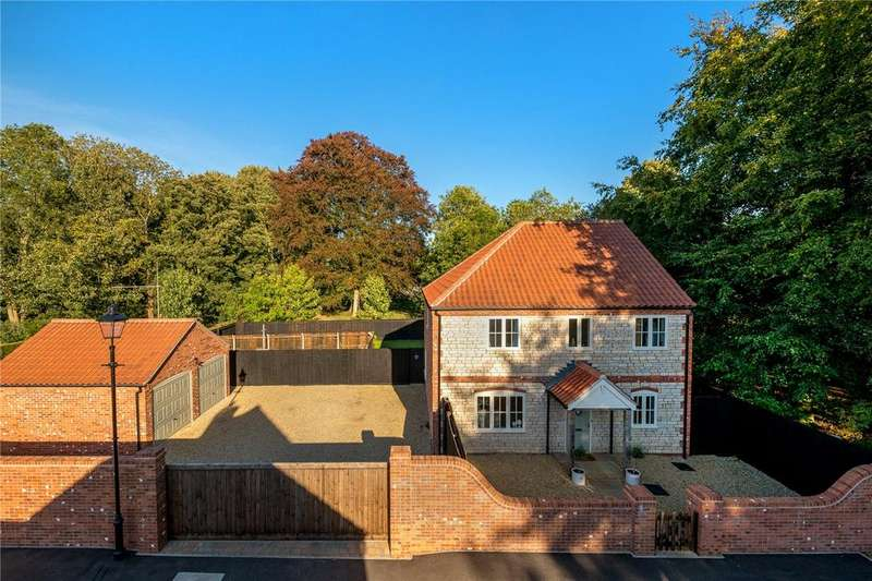 4 Bedrooms Detached House for sale in Wegberg Road, Nocton, Lincoln, Lincolnshire, LN4