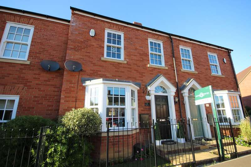 3 Bedrooms Terraced House for sale in Wagstaff Way, Ampthill, Bedfordshire, MK45