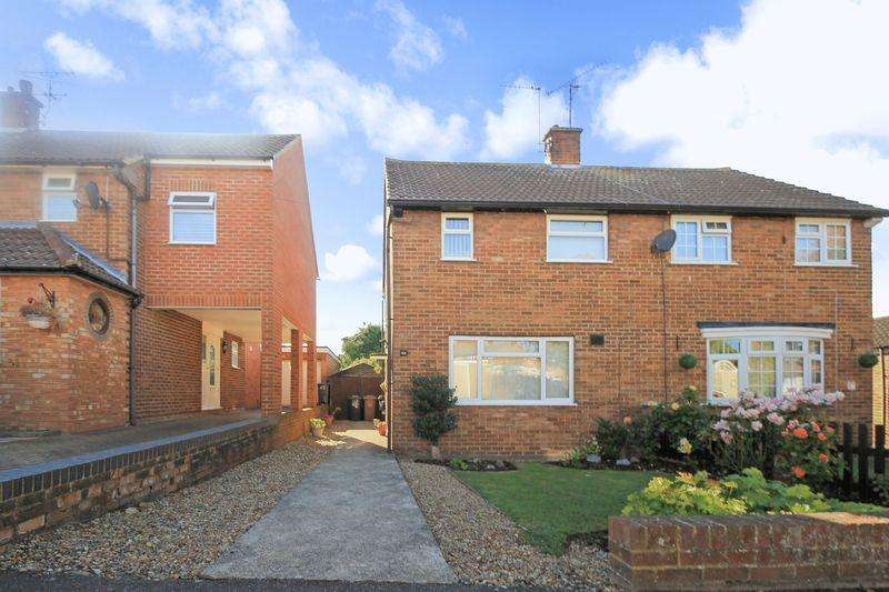 2 Bedrooms Semi Detached House for sale in Wellfield Avenue, Luton