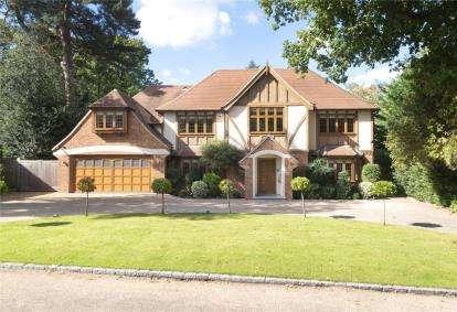 5 Bedrooms Detached House for sale in Longdon Wood, Keston Park