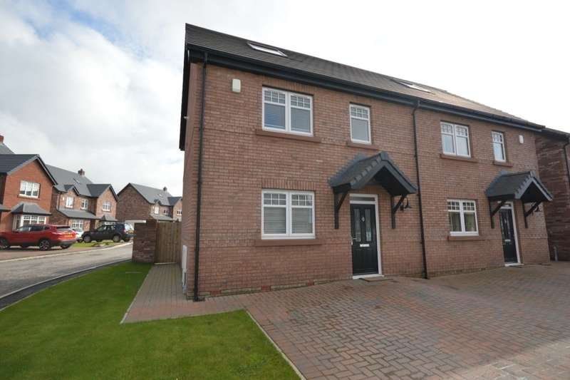 3 Bedrooms Semi Detached House for sale in Keekle Meadows Road, Cleator Moor, CA25