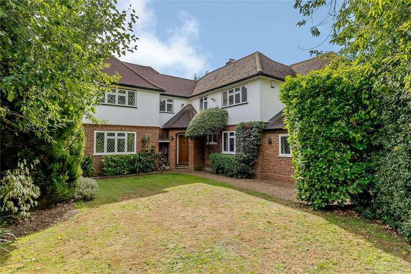 5 Bedrooms Detached House for sale in Mile House Lane, St. Albans, Hertfordshire
