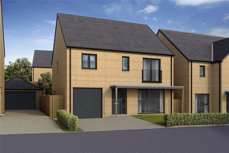 4 Bedrooms End Of Terrace House for sale in Manor Wood, Plot 58 - Oak, Old Dalkeith Road, Edmonstone, EH17
