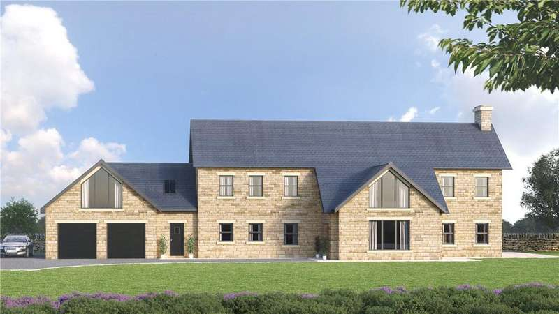 4 Bedrooms Detached House for sale in Hunters Lodge, Burnt Yates, Near Harrogate, North Yorkshire, HG3
