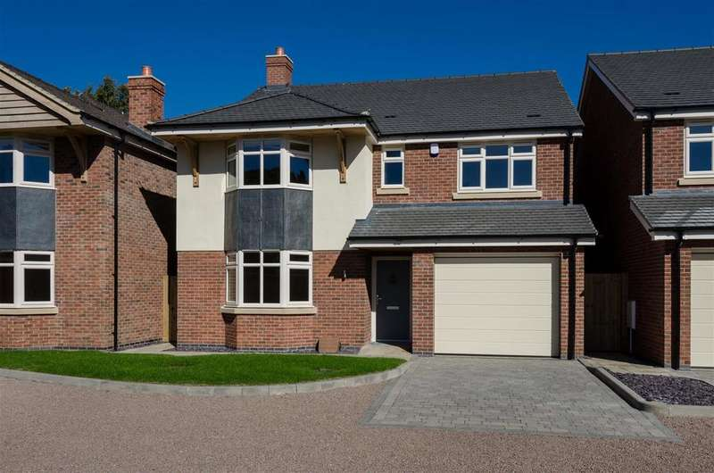 5 Bedrooms Detached House for sale in Burbage Road, Hinckley