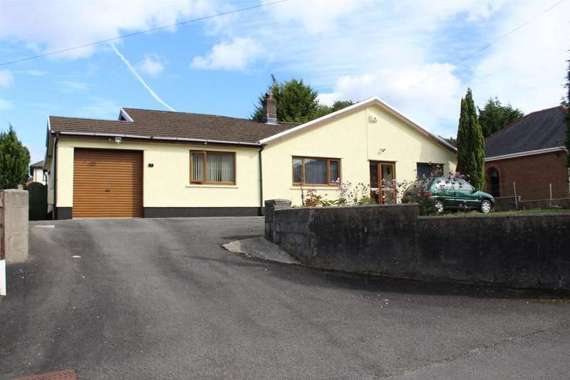 3 Bedrooms Detached Bungalow for sale in Grenig Road, Glanamman, Ammanford