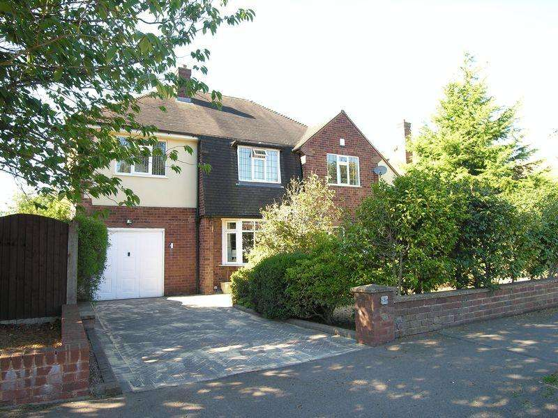4 Bedrooms Detached House for sale in Rushall Manor Road, Walsall