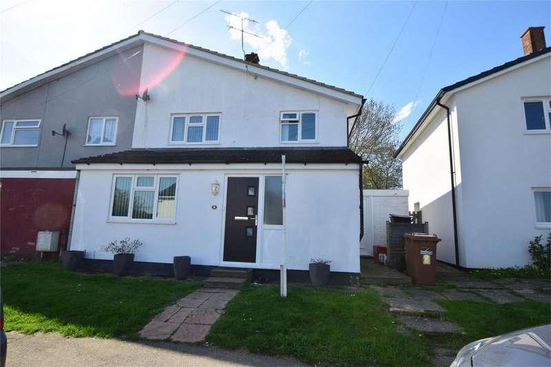 3 Bedrooms Semi Detached House for sale in Hyde Green, STEVENAGE, Hertfordshire