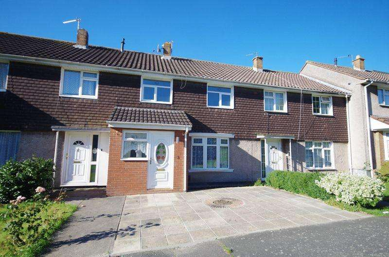 3 Bedrooms Terraced House for sale in Tidenham Way, Patchway, Bristol