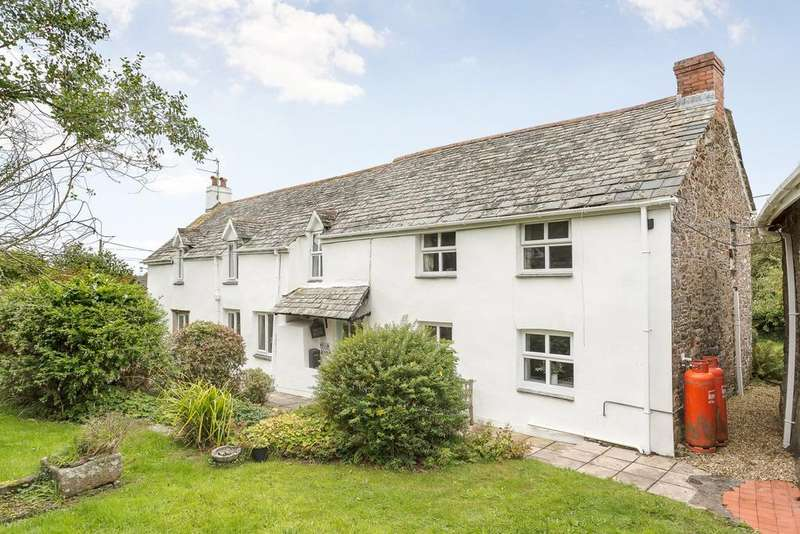 4 Bedrooms Detached House for sale in Welcombe, Bideford, Devon