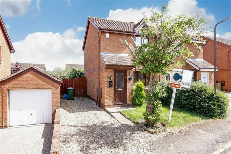 2 Bedrooms Semi Detached House for sale in Aintree Close, Bletchley, Milton Keynes, Bucks