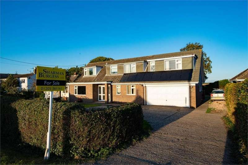 4 Bedrooms Detached House for sale in Leagate Road, Gipsey Bridge, Boston, Lincolnshire