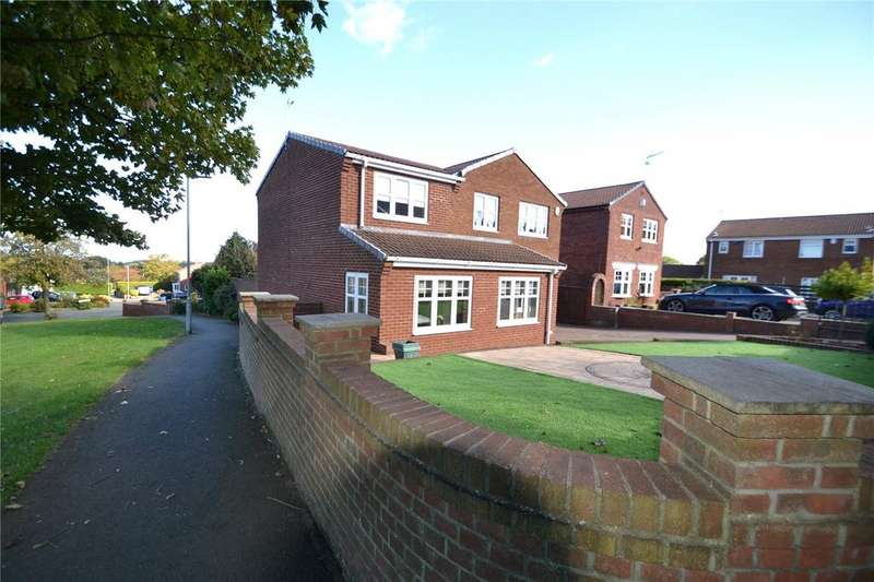 5 Bedrooms Detached House for sale in Dilston Close, Oakerside Park, Peterlee, Co.Durham, SR8