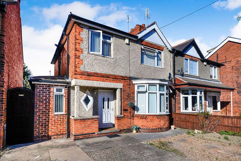 3 Bedrooms Semi Detached House for sale in Hall Street, Alfreton, DE55